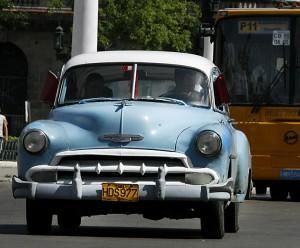 Un taxi a Cuba
