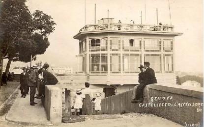 Giorgio Caproni torna a Genova nell'ascensore di Castelletto