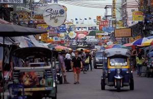 il mercato di Bangkok