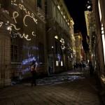Via Garibaldi, luci sui palazzi2