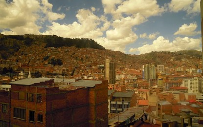 La Bolivia e la capitale La Paz