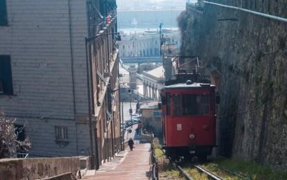 Storia di Genova: fra i monti e il mare c'è la funicolare