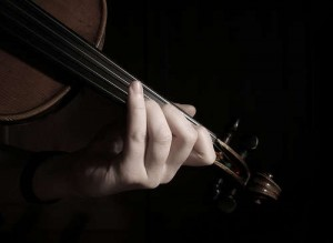 Violino mano