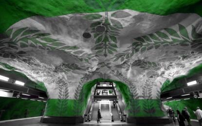 Arte metropolitana: le stazioni metro musei d'arte sotterranea