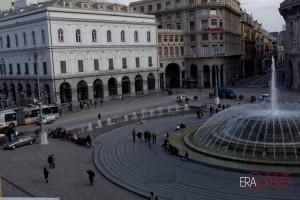 Piazza de Ferrari accademia di belle arti