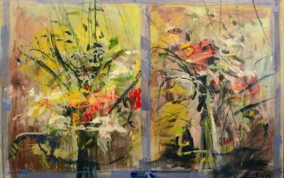 Mostra personale di Raimondo Sirotti alla Galleria Rotta Farinelli