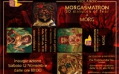 Morgasmatron: quadri e tatuaggi in mostra a Violabox