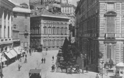 Storia di Genova: piazza Fontane Marose