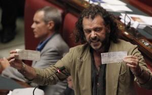 Francesco Barbato in Parlamento
