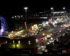 Baracconi in piazzale Kennedy, torna il luna park mobile più grande d'Europa