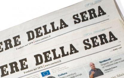Ipocrisia e giornalismo: gli editoriali del Corriere della Sera