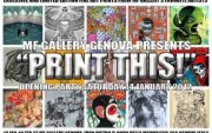 Print this! MF Gallery apre alle stampe dei suoi migliori artisti