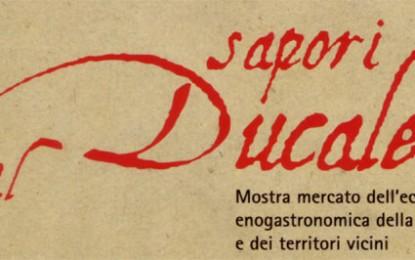 Sapori al Ducale, il mercato eno-gastronomico in piazza Matteotti