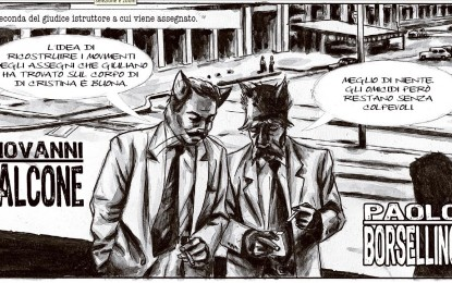 Un fatto umano: la storia a fumetti del pool antimafia