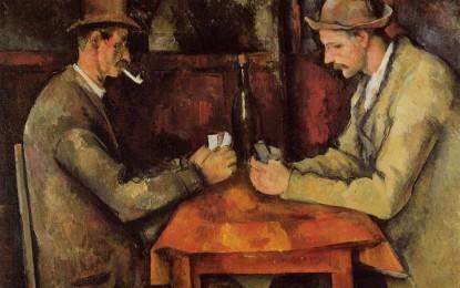 """Il quadro più costoso del mondo: """"I giocatori di carte"""" di Cezanne"""