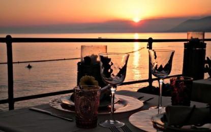 Cena di San Valentino all'Ostaia da o Sigu di Camogli