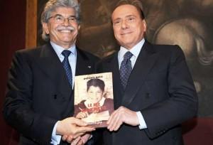Antonio Razzi e Silvio Berlusconi