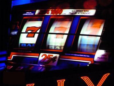 Slot machine bar legge