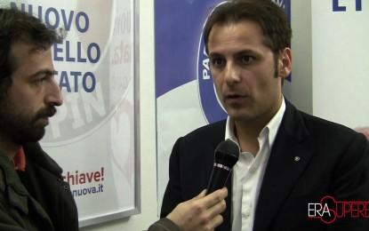 Incontro con Armando Siri, candidato sindaco del Partito Italia Nuova