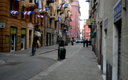 Sampierdarena: box in via Armirotti, preoccupazione degli abitanti