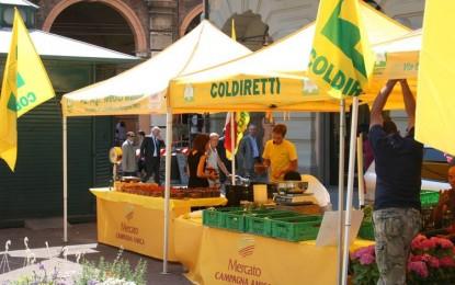 Coldiretti, il mercato a km 0 in piazza De Ferrari