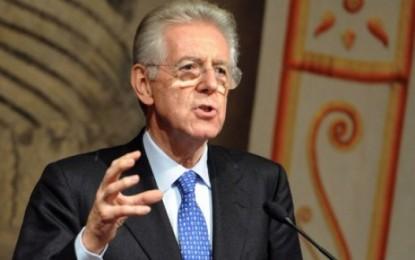 La classe dirigente è il cancro dell'Italia, Mario Monti il garante