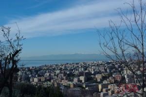 Genova vista da Apparizione
