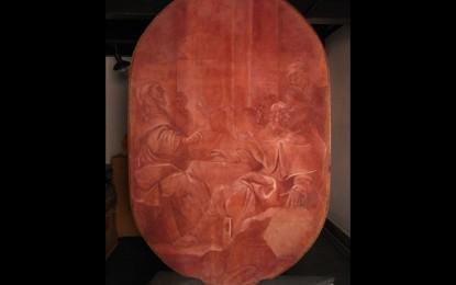 """Museo Sant'Agostino, ecco """"Cena in Emmaus"""", l'affresco restaurato"""