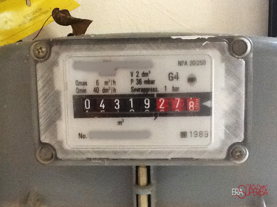Bollette pazze scambio dei contatori un caso assurdo for Taroccare contatore gas