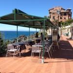 Ristorante sul mare a Genova Nervi
