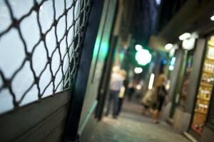 Centro Storico di Genova, negozi chiusi