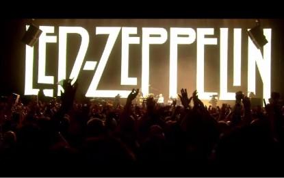 Led Zeppelin Celebration Day: serata al cinema Corallo