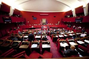 Consiglio Comunale a Palazzo Tursi aula Rossa