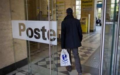 Poste italiane: in Liguria a richio 250 posti di lavoro