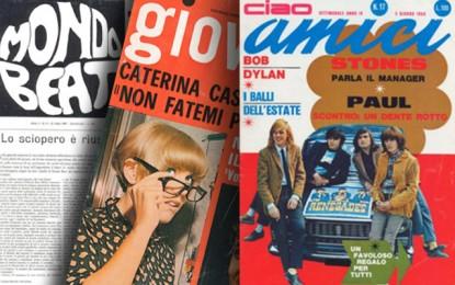 Anni 60/70: radio libere, trasmissioni tv, riviste e quotidiani
