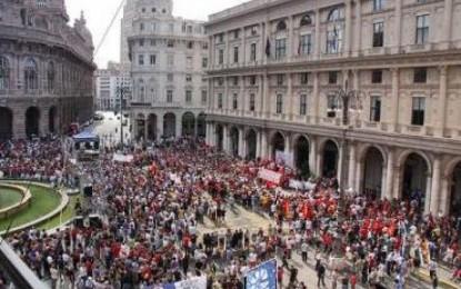 Manifestazione in difesa della sanità pubblica e presidio contro gli sfratti
