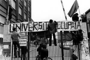 Anni 70, proteste studenti
