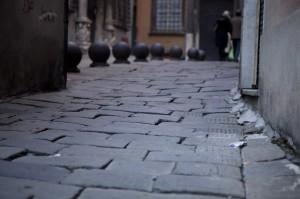 Pavimentazione nel Centro Storico