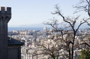 Veduta della città dalla Madonna del Monte