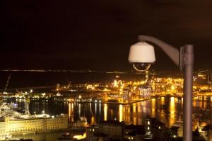 Telecamera su Genova