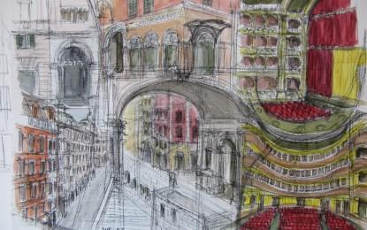 Mariagiovanna Figoli, il disegno che racconta l'architettura genovese