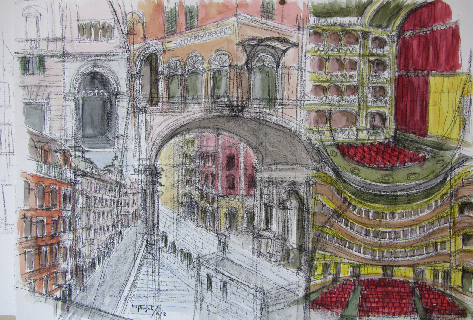 Mariagiovanna figoli il disegno che racconta l for Disegno di architettura online