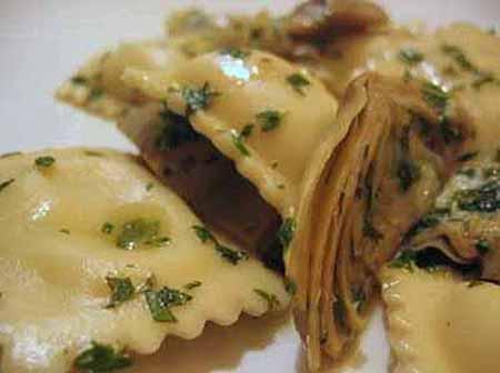 Ravioli di carciofi ingredienti e metodo di preparazione for Ricette con carciofi