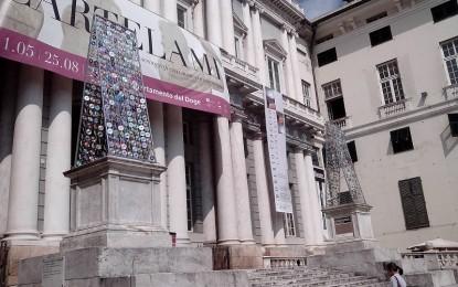 """Progetto Basamenti, Palazzo Ducale: gli autori di """"Riflessioni in piazza"""""""