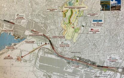 Genova, nuova mobilità del Ponente: hub di interscambio e infrastrutture