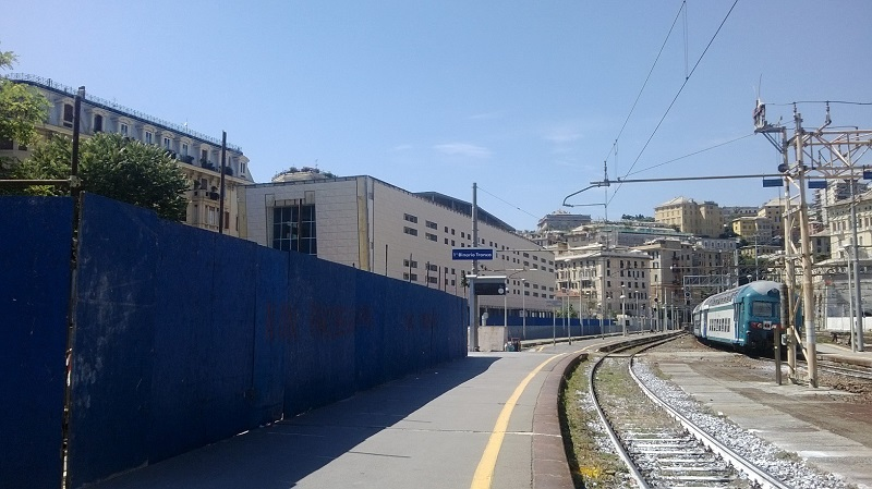 Brignole e principe restyling stazioni ferroviarie lo - Orari treni milano centrale genova porta principe ...