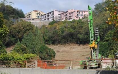 Terzo Valico, cantiere Bolzaneto: ecco le prime terre di scavo, la protesta degli abitanti