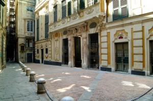 Galleria Palazzo Spinola Genova centro storico