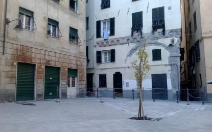 Piazza Don Andrea Gallo a Genova: si attende l'ok della Prefettura