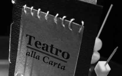 Teatro alla carta, cena e monologhi al teatro di Campopisano